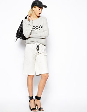 ASOS | ASOS Leather Boxing Shorts at ASOS