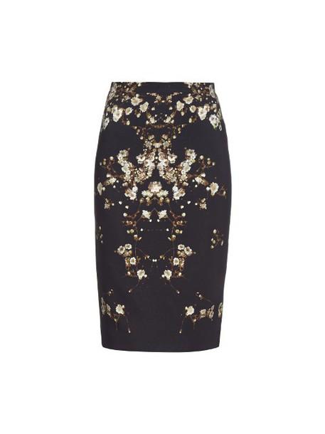 Givenchy skirt baby print black