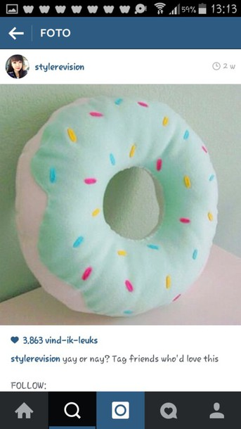home accessory donut
