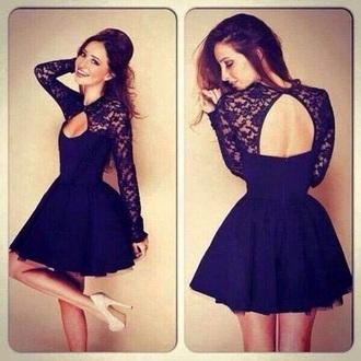 dress navy short