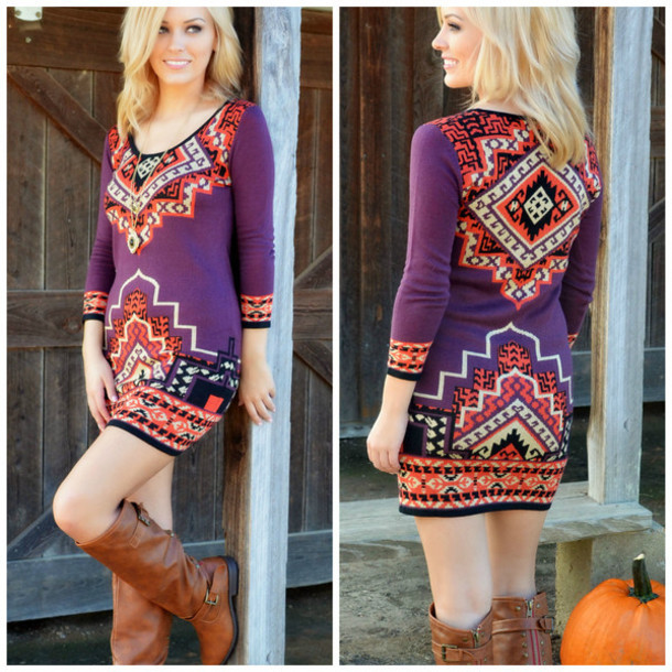 Dress: sweater dress, fall dress, bodycon dress, bodycon sweater ...