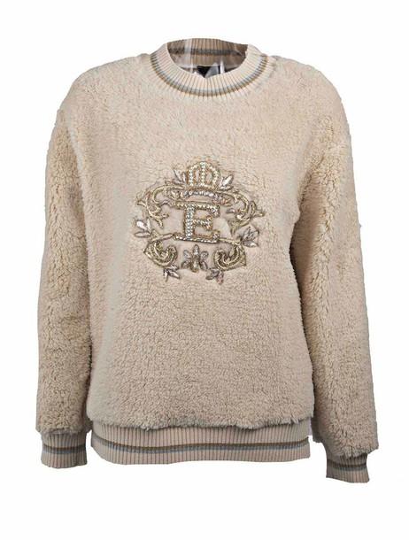 ERMANNO ERMANNO SCERVINO sweater embellished nude
