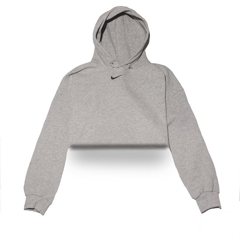 412b84d00ac1d3 Classic Nike Hoodie Crop Top