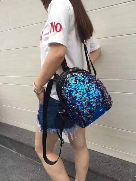 be94075949 bag backpack purse shoulder bag t-shirt shorts short outfit outfit idea  lifestyle shoes black