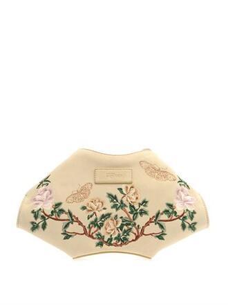bag de manta embroidered suede clutch alexander mcqueen embroidered suede clutch clutch suede