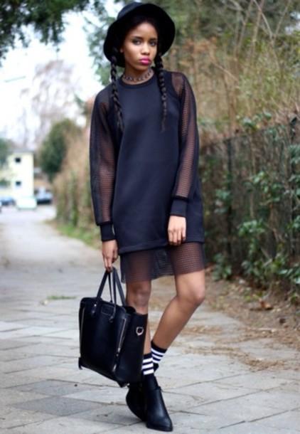 dress mesh blouse top shirt t-shirt