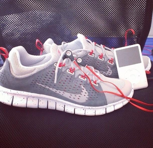shoes nike nike free run trainers running sportswear athletic