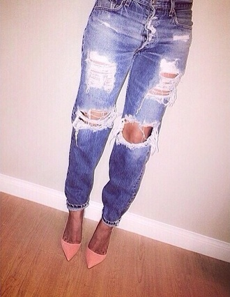 jeans ripped jeans skinny jeans pants ebonylace.storenvy ebonylace-streetfashion shoes