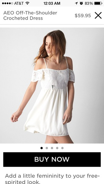 dress white off the shoulder dress price $10-$2