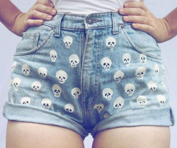 shorts jeans pants indie alternative hipster