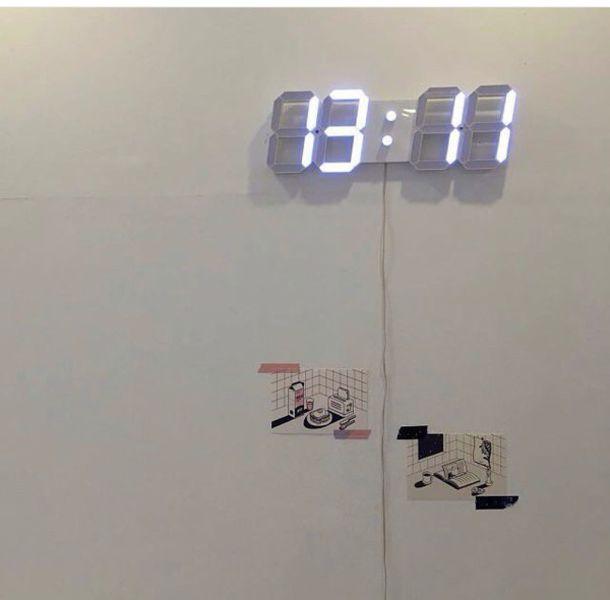 Amazoncom Chihai Remote Control Jumbo Digital Led Wall Clock