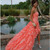 2013 New A Line Beading Sweetheart Ruffles Long Coral Organza Party Prom Dresses | eBay