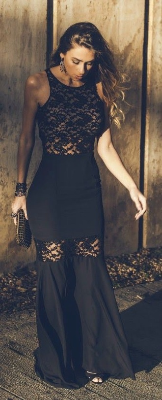 dress black prom dress black dress black maxi dress prom dress long prom dress nail accessories