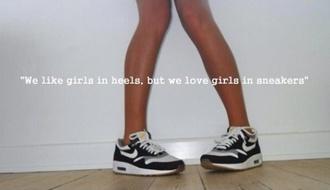 shoes sneakers nike nike sneakers black white street air max