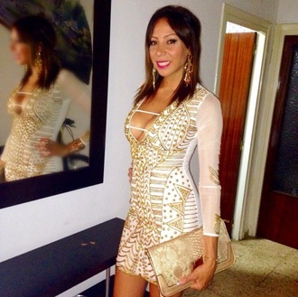 dress gold dress white dress sexy dress clubwear boho chic summer dress