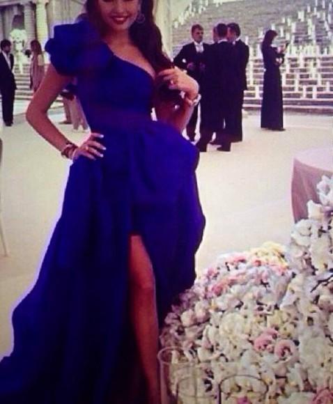 dress blue dress nice sexy dress long sleeve lov coral red maxi pretty
