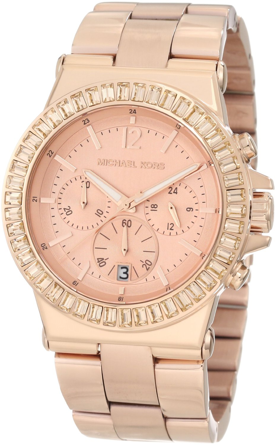 Amazon.com: Michael Kors Women's MK5412 Dylan Rose-Tone Watch: Michael Kors: Watches