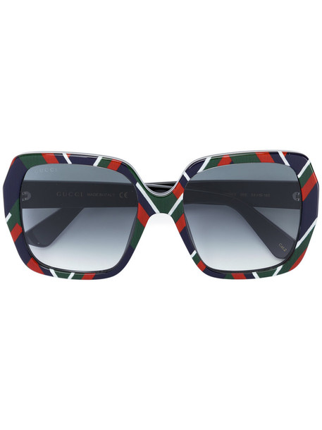 Gucci Eyewear - square frame sunglasses - women - Acetate - 54, Acetate