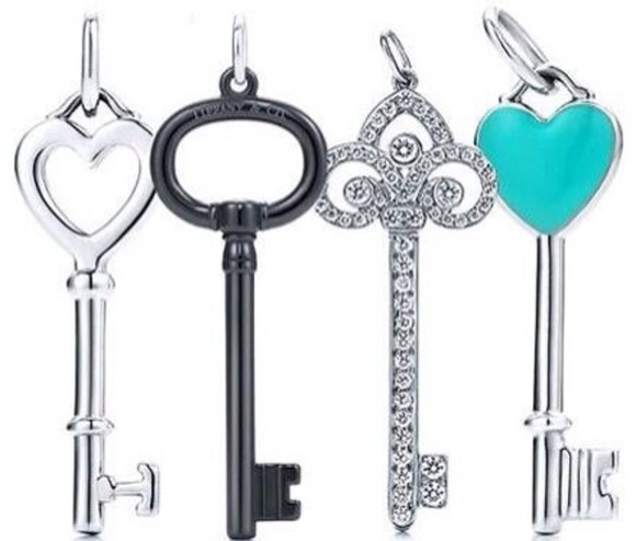 tiffany jewels keys accessories