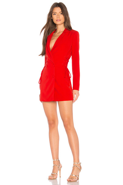 NBD dress red