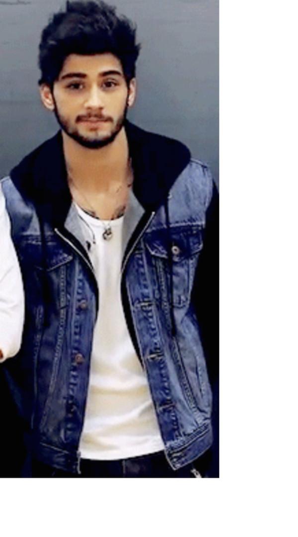 2013 Mens Street Blue Denim And Faux Leather Sleeve Jacket Hoodie Hoody Coat