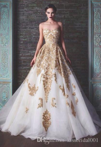 Dress: arabic, 2015 wedding dresses, bridal gown, 2014, luxury ...