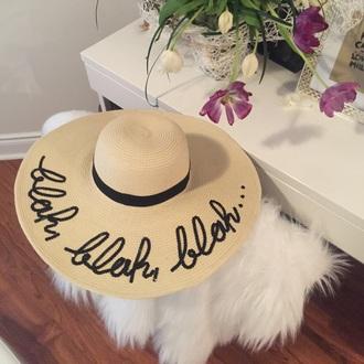 hat straw hat summer hat summer letter hat summer accessories summer holidays sun hat beach floppy hat hair accessory customized beach hat