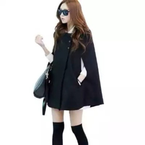 korean K-pop korea japan jacket kawaii free shipping cape vintage retro lolita winter outfits fall outfits japanese big dark goth gothic lolita