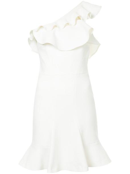 Rebecca Vallance dress mini dress mini women white