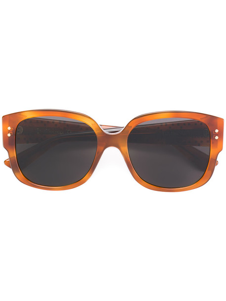 Dior Eyewear studs metal women sunglasses brown