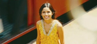 blouse freida pinto tank top t-shirt