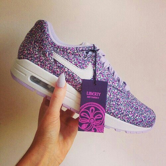 shoes violet rose air max nike nike shoes girly girl home accessory