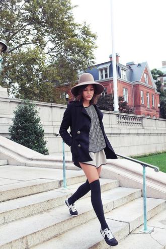 trop rouge jacket t-shirt shorts shoes hat
