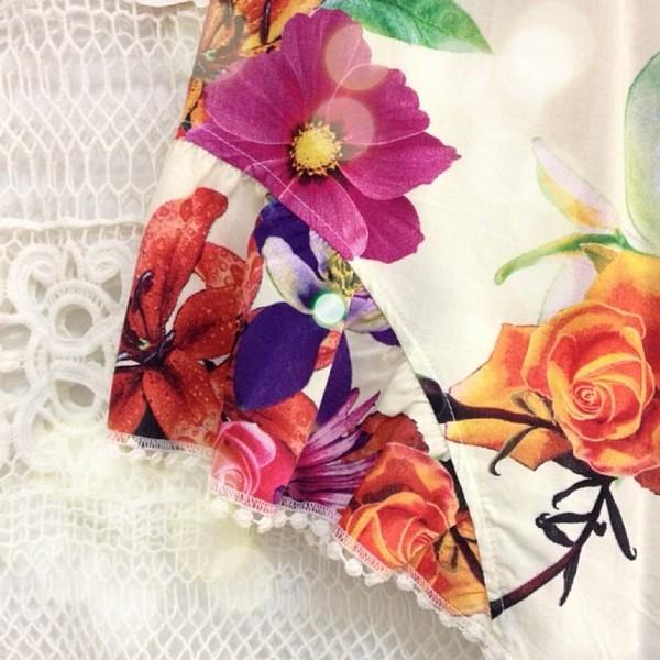 dress crochet lace ivory ivory dress floral romper pom poms