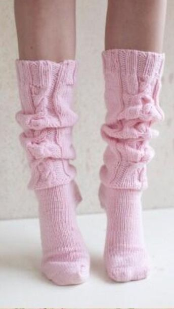 shoes high socks pink rose socks leg warmers cute pretty feet knit pastel pink