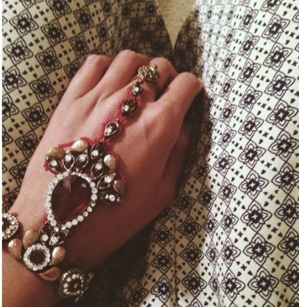 jewels brackets rings indian bohemian