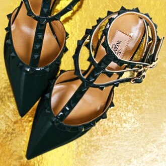 shoes heels valentino studded shoes amazing cool