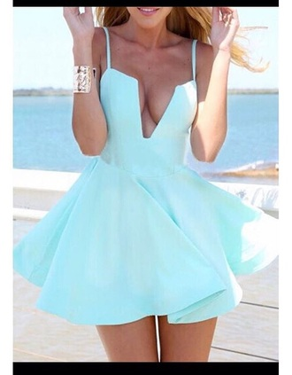 dress girly girl girly wishlist sky blue summer dress mini dress cute dress