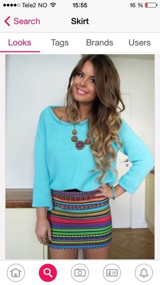 blue blue sweater blue top top