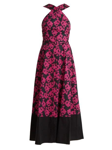 Borgo De Nor dress cotton print pink