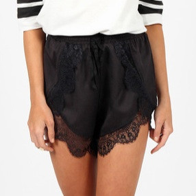Sparrow festival laces shorts (4 colors available) – glamzelle