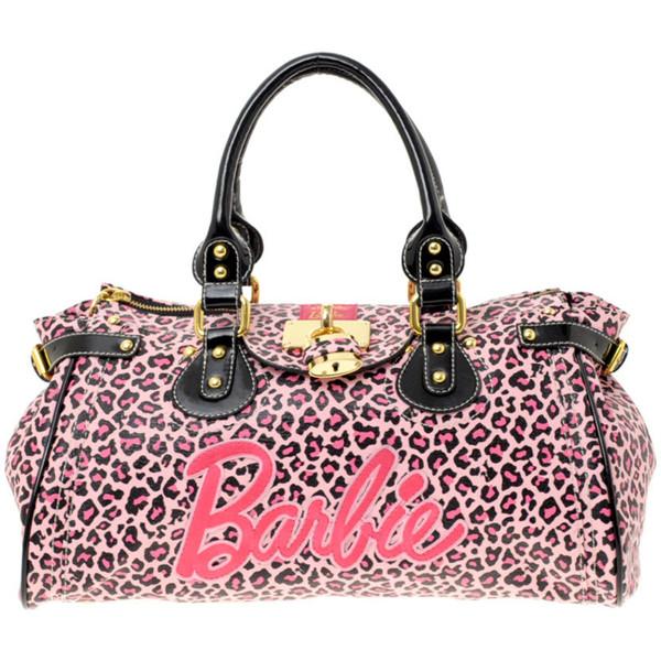 Paul's Boutique Loves Barbie Leopard Print Padlock Bag - Polyvore