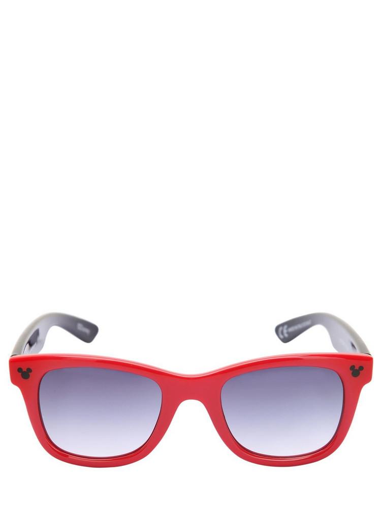 ITALIA INDEPENDENT Disney Acetate Sunglasses in red
