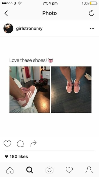 shoes dusky pink adidas