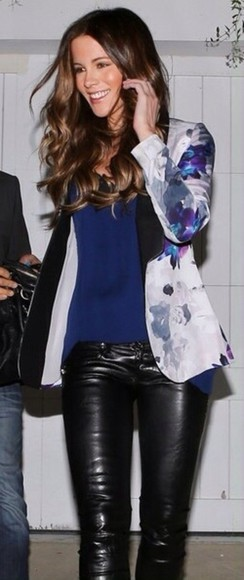 blue and white jacket kate beckinsale