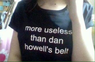shirt dan howell danisnotonfire black