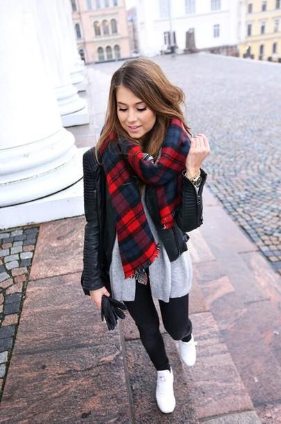 scarf maxi