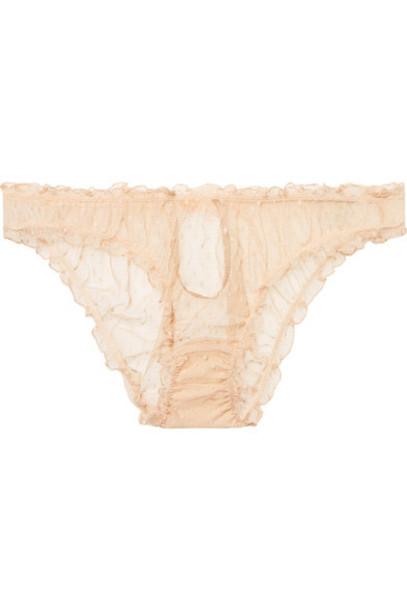 Le Petit Trou beige underwear