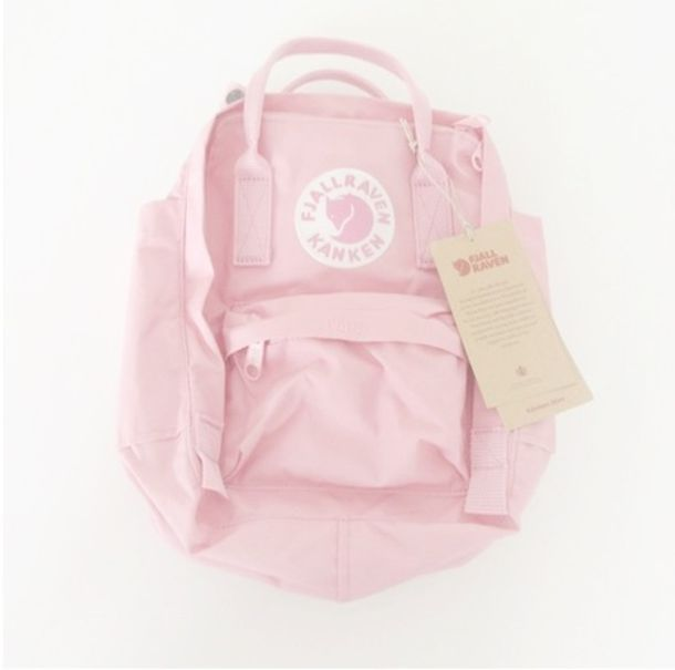 8533b2df91094 bag pink fjallraven kanken backpack