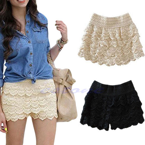 Lace shorts for under dresses